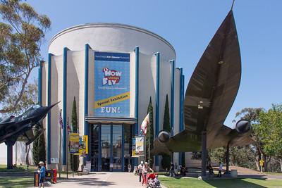 Air & Space museum Balboa Park