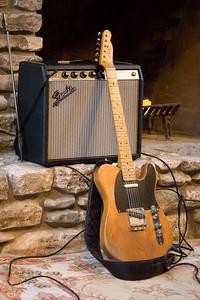 Bill Kirchen's Guitar - Pine wood from Jim Jarmusch's NYC loft