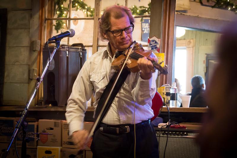 Erik on fiddle