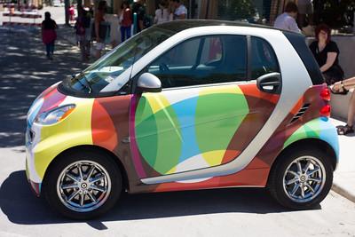 Smart Art Car
