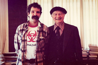 Me and Linus Pauling in May 1980