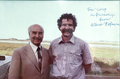 Me and Albert Hofmann in Novato CA back in the '80s