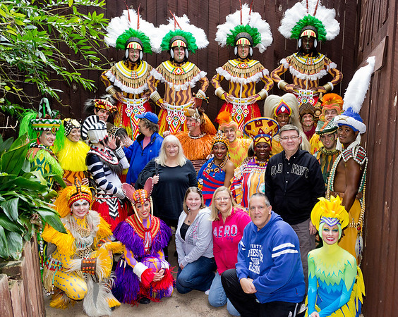 2012 Meet The Cast OF Festival Of The Lion King