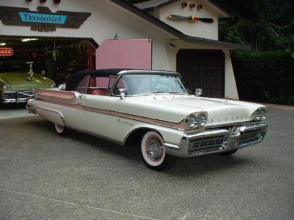 '58 Mercury convertible