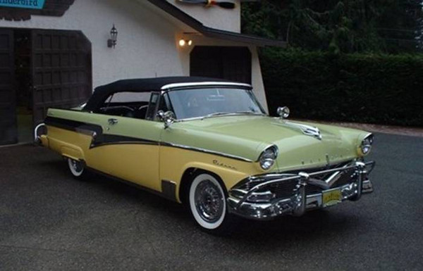 '56 Meteor convertible (Ford)