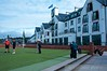 Carnoustie Clubhouse and 1st Tee