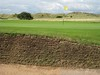 Challenging greenside bunker at Muirfield