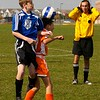 """Referee thinks """"Ouch, that's going to hurt!"""""""