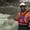 0 1 Kayak on river
