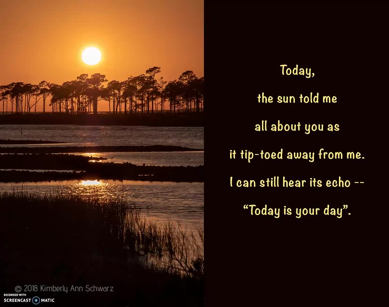 "Click on the image above to view video recording of poem.  To enalrge poem and image, click on ""Expand Screen"" icon  located in bottom right corner of video frame."