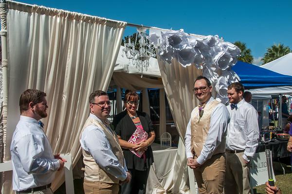 Hyatt Wedding @ Lake Eola 10-10-15