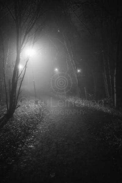 Night Walk At Pispala III (Lights)