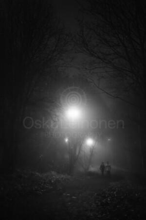 Night Walk At Pispala IV (Friends)