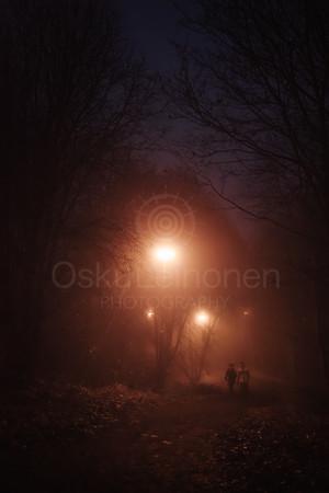 Night Walk At Pispala V (Friends)