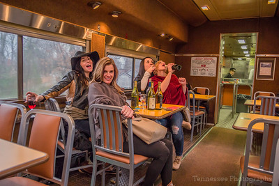 All aboard for Tennessee Central Railway's DelMonaco Winery Trip 3/11/17