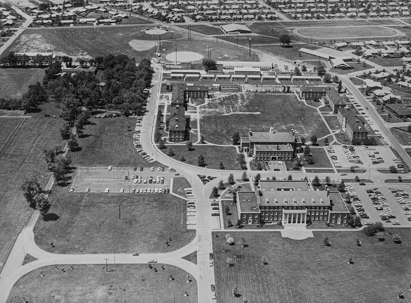 Messenger-Inquirer photo<br /> <br /> Aerial photo - Kentucky Wesleyan College.