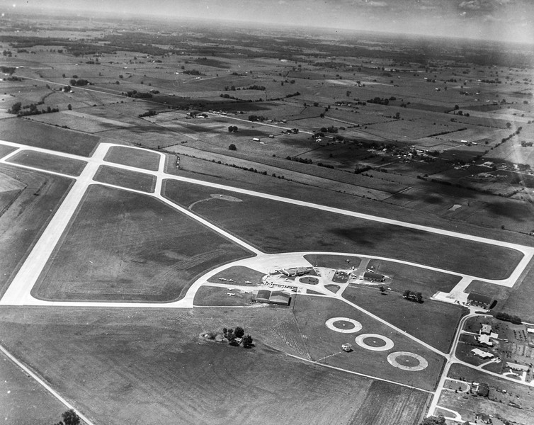 Messenger-Inquirer photo<br /> <br /> Aerial photo - Owensboro Airport