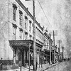 Messenger-Inquirer Photo <br /> No photo credit - No date - Looking north on Frederica Street. Business section.