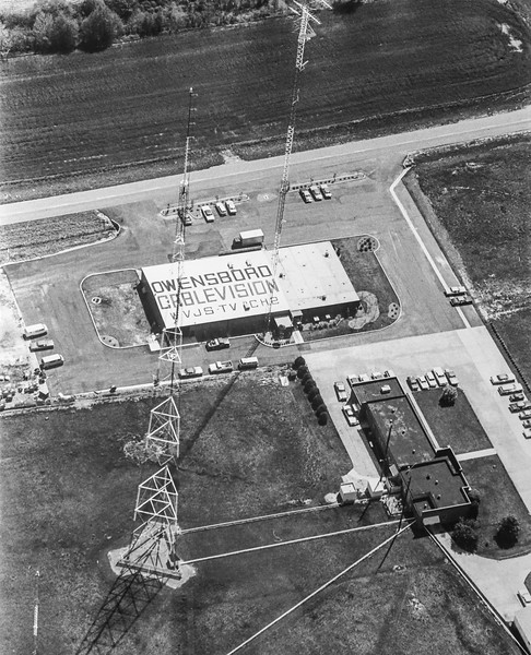 Messenger-Inquirer Photo <br /> No photo credit - No date - Owensboro Cablevision aerial photo