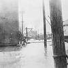 Messenger-Inquirer Photo <br /> No photo credit - no date - Blacksmith shop and flooding
