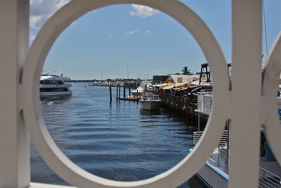 Tin City -porthole view