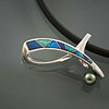 Pendant-,-Sterling-,14-kt -gold--,-Opal-Inlay-Tahitian-Pearl-9-mm  copy
