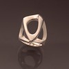 Ring Sculptural ,Sterling