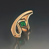 Ring ,18kt gold,Emerald