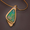 Pendant,Crystal-Opal-18kt yellow-Gold, 10pt -diamond-_v2_v1 copy