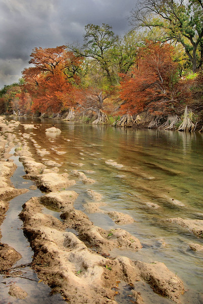 2755-Guadelupe-River-Diminished-By-Drought-