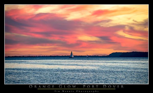 Orange Glow, Port Dover