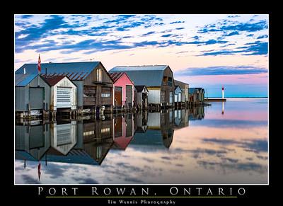 Port Rowan Boathouses