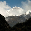 Cerro San Valentine as seen from Valle Exploradores. Patagonia's highest peak. Chilean Patagonia.