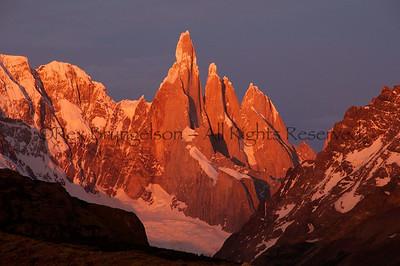 Cerro Torre.  Los Glaciares National Park, Argentina