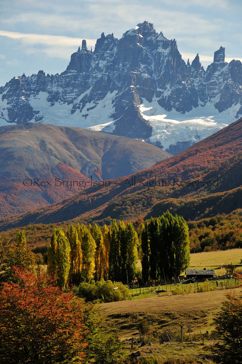 Cerro Castillo in Chilean Patagonia.