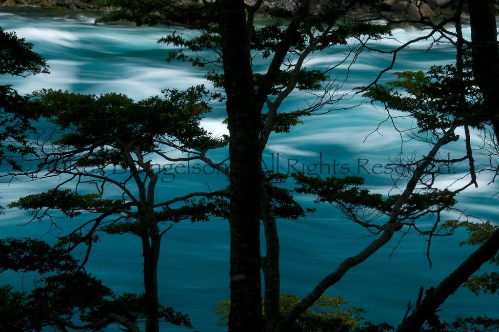 The Rio Baker, Region of Aysen, Chilean Patagonia