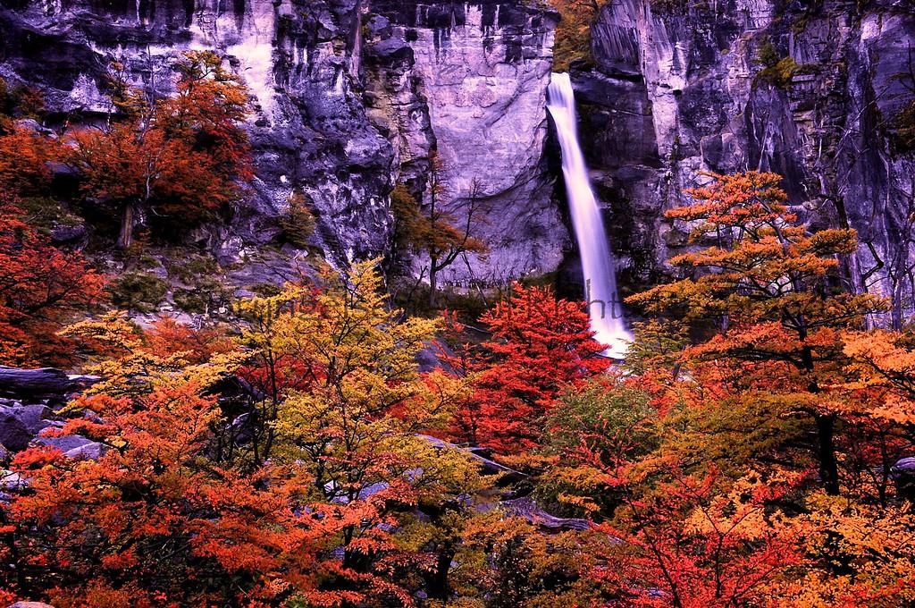 Fitzroy waterfall Argentina