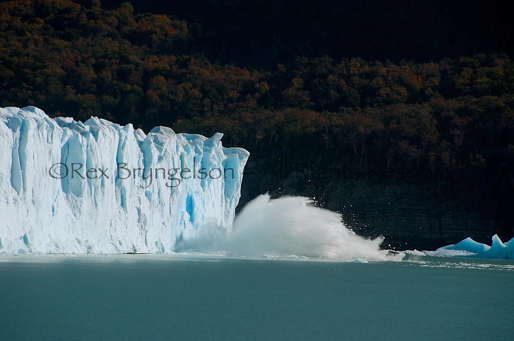 Moreno Glacier. Los Glaciares National Park.  Argentine Patagonia.