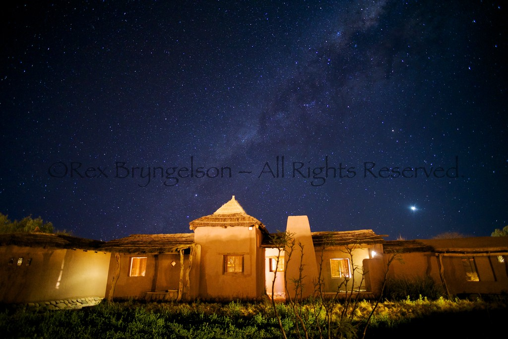 Night sky in the Atacama Desert - Northern Chile