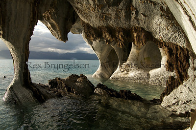 The Marble Caves of Lago General Carrera in the Region of Aysen, Patagonia
