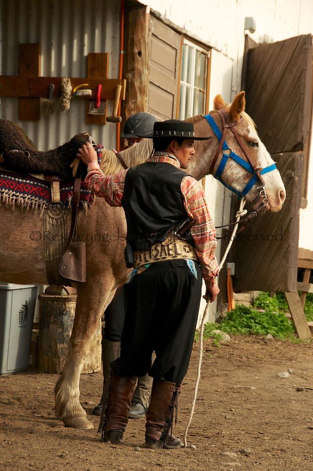 Cowboy at Estancia Cerro Guido