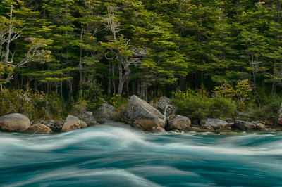 The Rio Baker in Chilean Patagonia