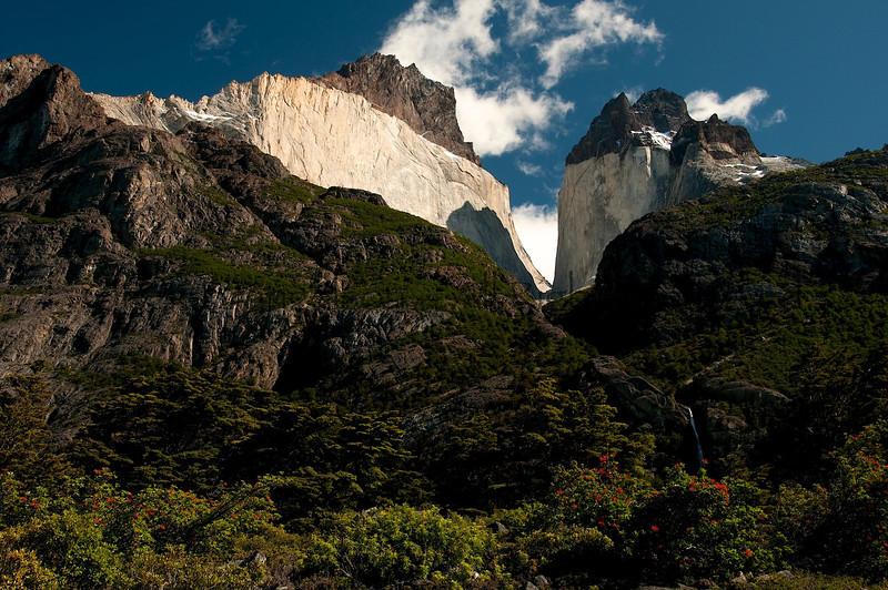 Los Cuernos, Torres del Paine National Park, Chilean Patagonia.