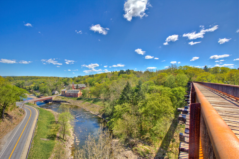 Rosendale Trestle Clouds