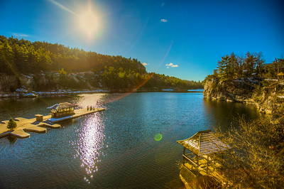 Mohonk Mountain House and Lake, New Paltz, New York, USA