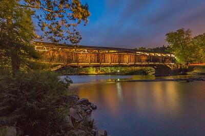Perrine's Bridge, Rifton, New York, USA