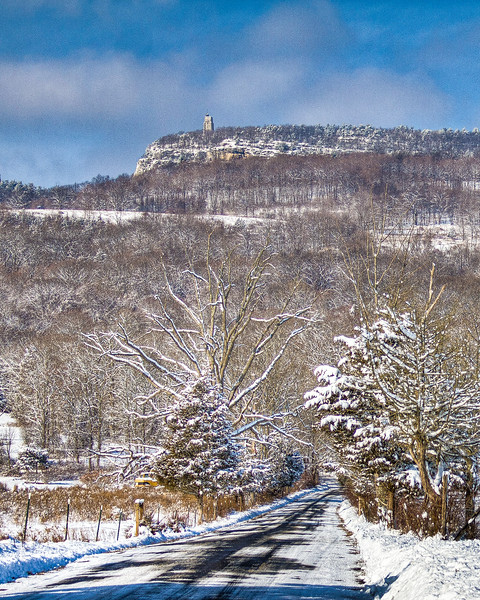 Snowy!  Mohonk Mountain, New Paltz, USA