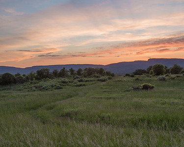 Sunset over Mohonk