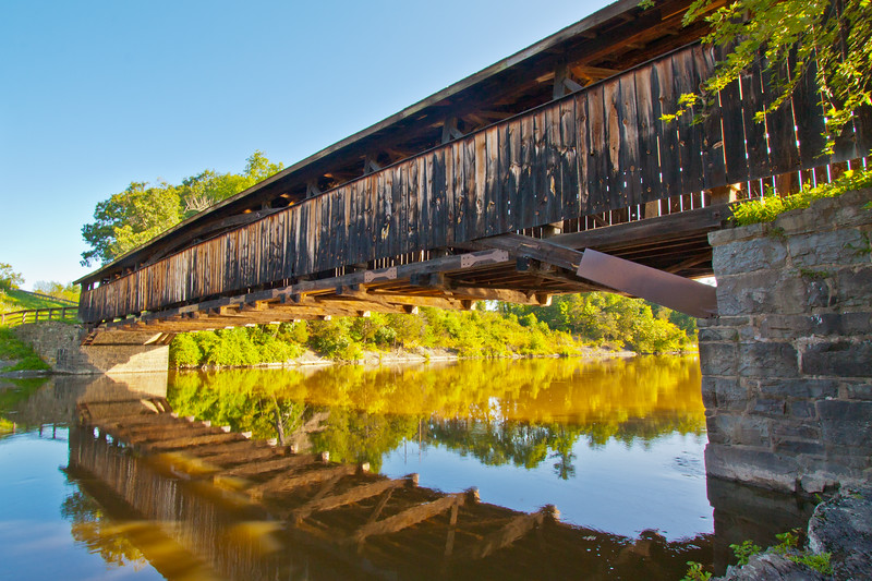 Perrine's Bridge, Rifton, New York, USA