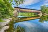 Perrine's Bridge, Rifton, New York, USA - July 2016